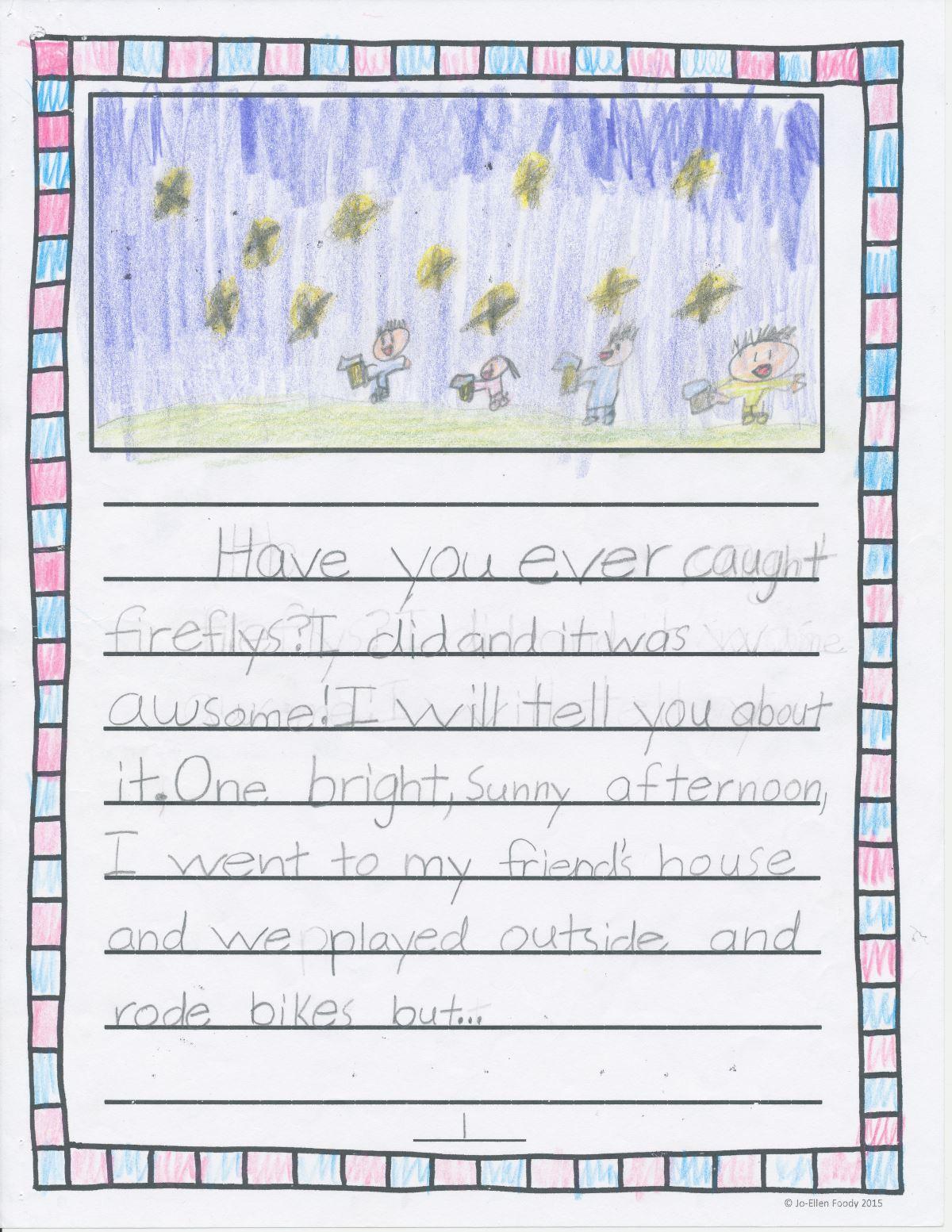 Fireflies Page 1